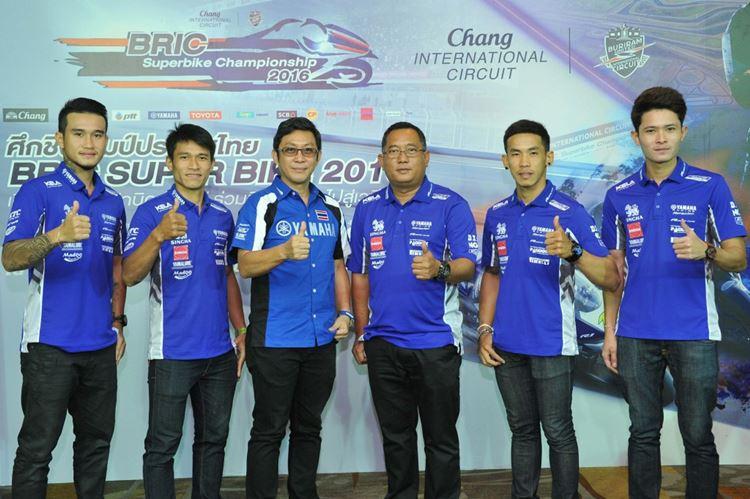 02 ยามาฮ่าจัดทัพรักษาแชมป์ประเทศไทย