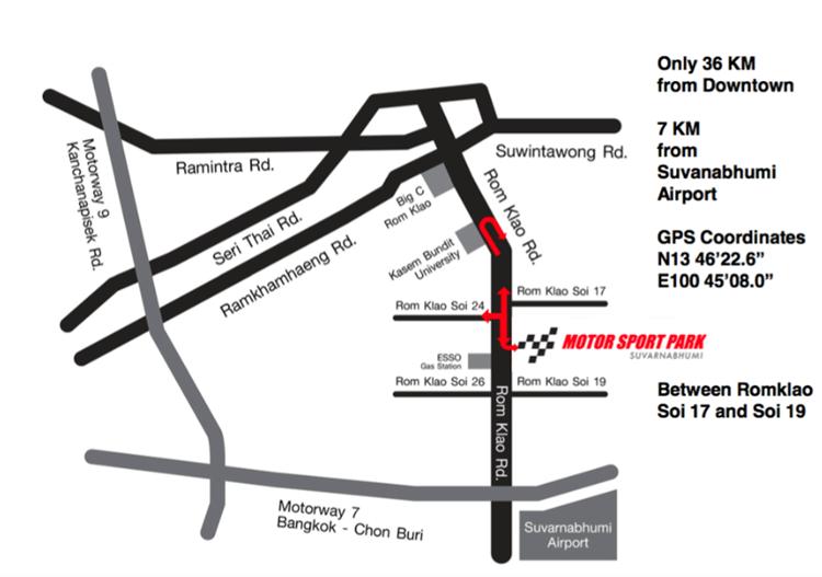 Duke It Weekend On Tour - Bangkok (Map)