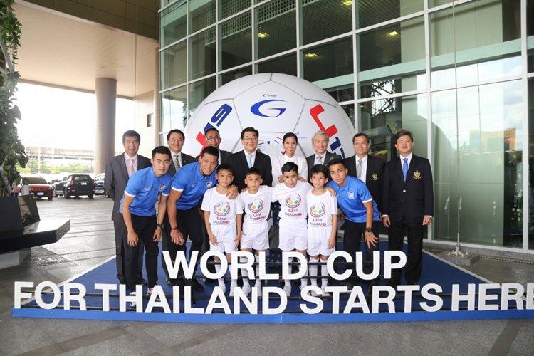 02 ยามาฮ่าร่วมงานแถลงข่าวโครงการสานฝันบอลไทยไปบอลโลก