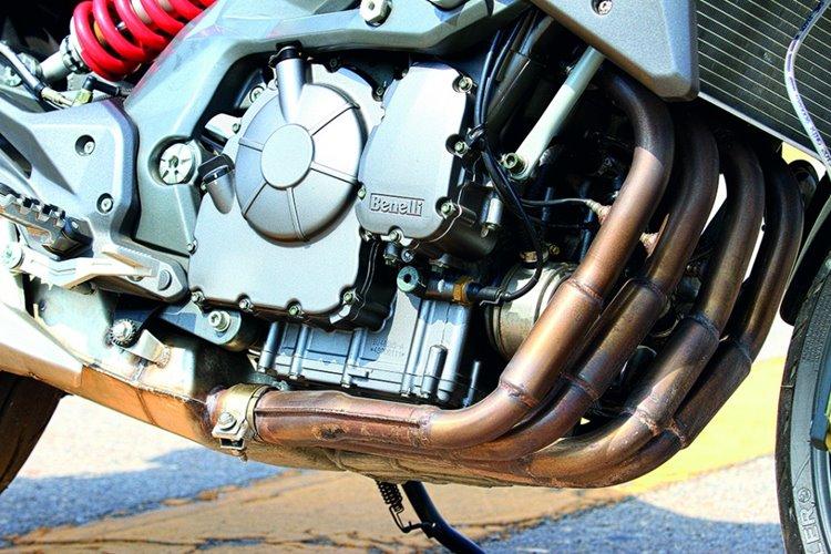 เครื่องยนต์สี่สูบเรียง 600 ซีซี ที่สาวกเบเนลลี่คุ้นเคย