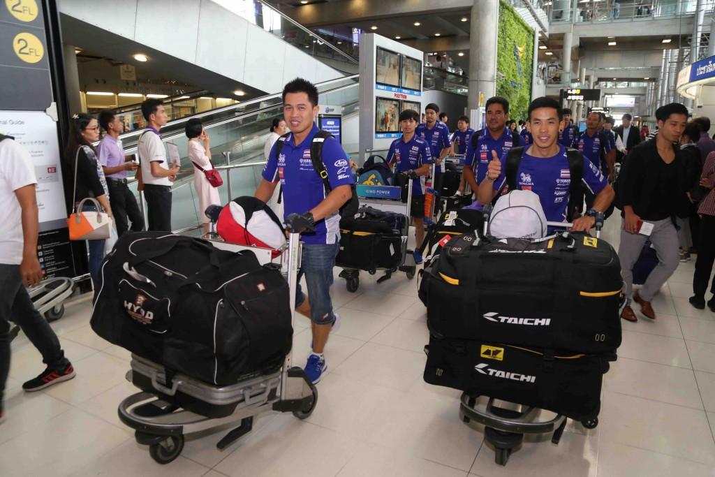 07 ยามาฮ่าต้อนรับนักบิดไทยยามาฮ่าเต็งแชมป์เอเชีย