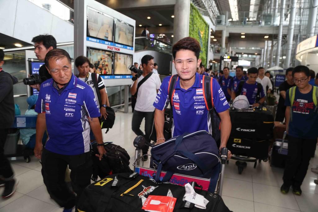 08 ยามาฮ่าต้อนรับนักบิดไทยยามาฮ่าเต็งแชมป์เอเชีย