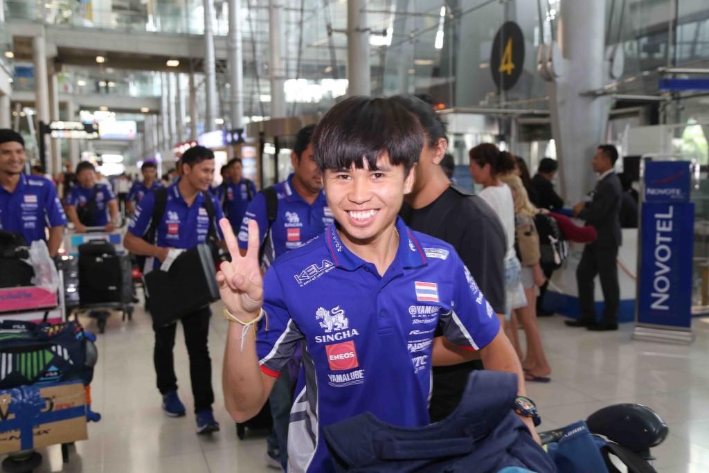 09 ยามาฮ่าต้อนรับนักบิดไทยยามาฮ่าเต็งแชมป์เอเชีย