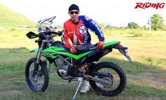 Riding Magazine #251 : Riding Review / RacingBoy KLX150BF Rear shock