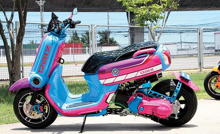 Yamaha QBIX125 Scooter Modify