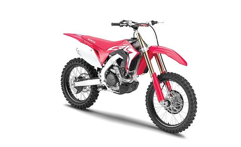 2019 Honda CRF motocross 'lineup