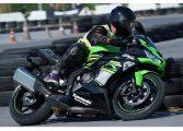Kawasaki Ninja Test Riding