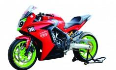 Honda  CBR650R  Racing Sport On The Track (235)