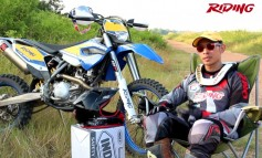 [HD] Riding Magazine#219 : DirtBike Riding Test - Husaberg FE501