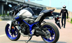 Yamaha MT-03 The Dark knight Of Street