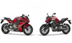 New Honda CBR650F & CB650F 2017