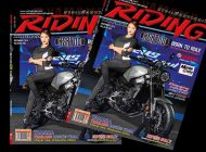 Riding Magaze December 2016 Vol.22 No.255