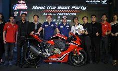 All New CBR1000RR พร้อมนิกกี้ เฮเด้น อดีตแชมป์ MotoGP ร่วมเปิดตัวสุดยิ่งใหญ่