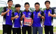 ทัพนักบิด YAMAHA THAILAND RACING TEAM ฟอร์มเดือด สู้สุดใจ กระชากคันเร่งรถแข่งตระกูล R-Series ผงาดยืนโพเดี้ยม  ศึกชิงแชมป์เอเชีย สนาม 5