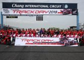 Honda BigBike Track Day ...On GP Track