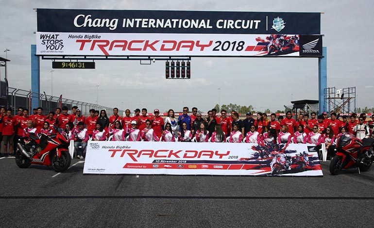 Honda BigBike Track Day …On GP Track