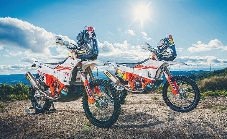 2019  KTM 450  Rally factory bike