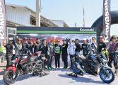 Kawasaki Z400 Test Ride