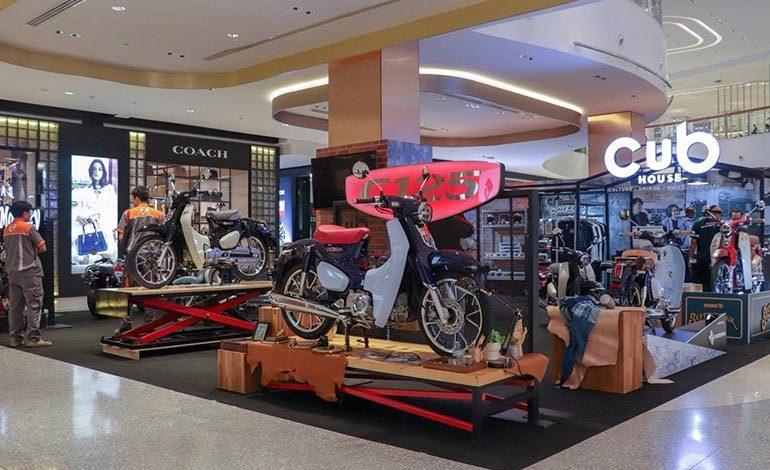 CUB House เล่นใหญ่ยก Moto Lifestyle Café & Showroom แห่งแรกของไทย ไปไว้ในงาน Bangkok Bike Fest 2019