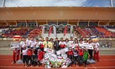 """ลุ้นระทึกสนามสุดท้าย! ศึกประชันฝีเท้า """"สพฐ.-เอ.พี. ฮอนด้า วิ่ง 31 ขา สามัคคี ปี 14"""" เฟ้น 4 ทีมแดนใต้ เข้าชิงแชมป์ประเทศไทย"""