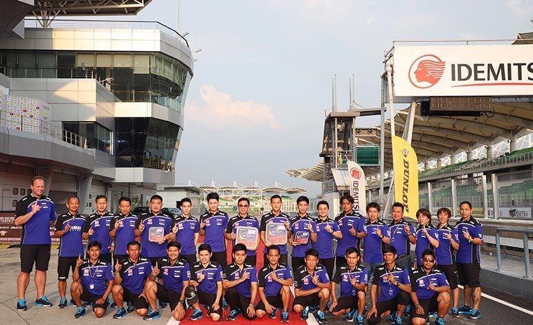 ยามาฮ่า ไทยแลนด์ เรซซิ่งทีม บิดสนั่นคว้าชัยรุ่น 600 เกมเอเชีย โร้ดเรซ สนาม 1 ที่มาเลเซีย