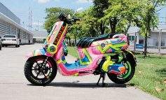 Yamaha QBIX 125  Candy Color