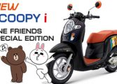 เปิดตัว New Scoopy i LINE FRIENDS Special Edition