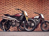 Indian FTR1200 Hooligan racers