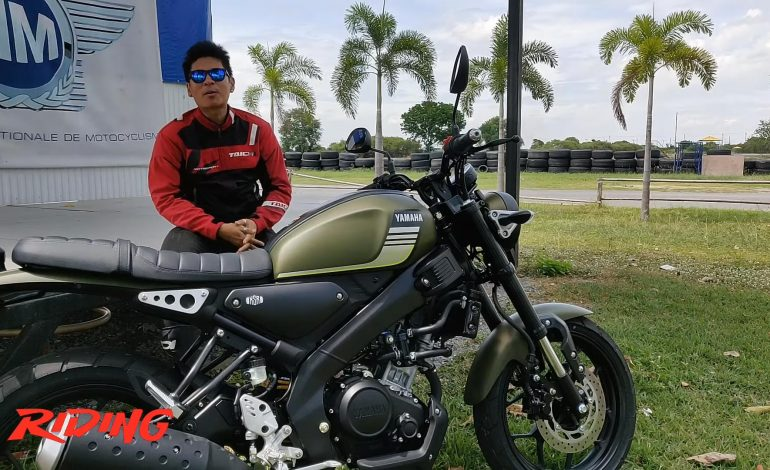 Review All New Yamaha XSR155 Sport Heritage