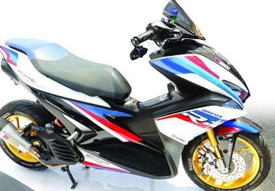 Sport Automatic  AEROX155 Tri Color