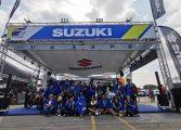 ซูซูกิ รั้งอันดับ 3 ของโลก!!! 2 นักแข่งทีม ซูซูกิ ผนึกกำลัง เก็บแต้มท็อปเท็น ท่ามกลางกองชียร์ชาวไทย