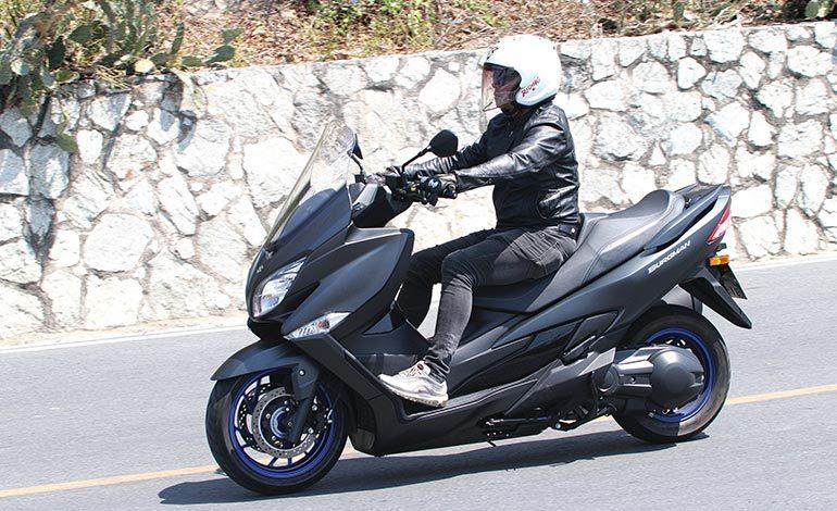 "New Suzuki Burgman 400  ""The Elegant Athlete"""