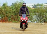 Honda ADV150  RIDING CUSTOM BIKE